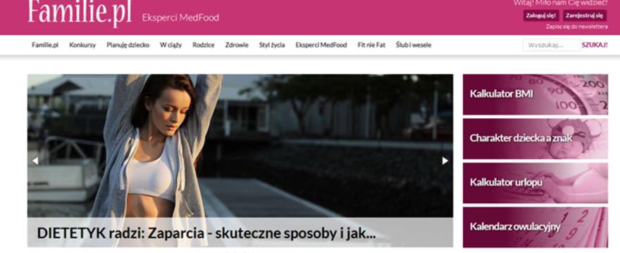 Zapraszamy do współpracy z najlepszym portalem dla rodziców -  Familie.pl